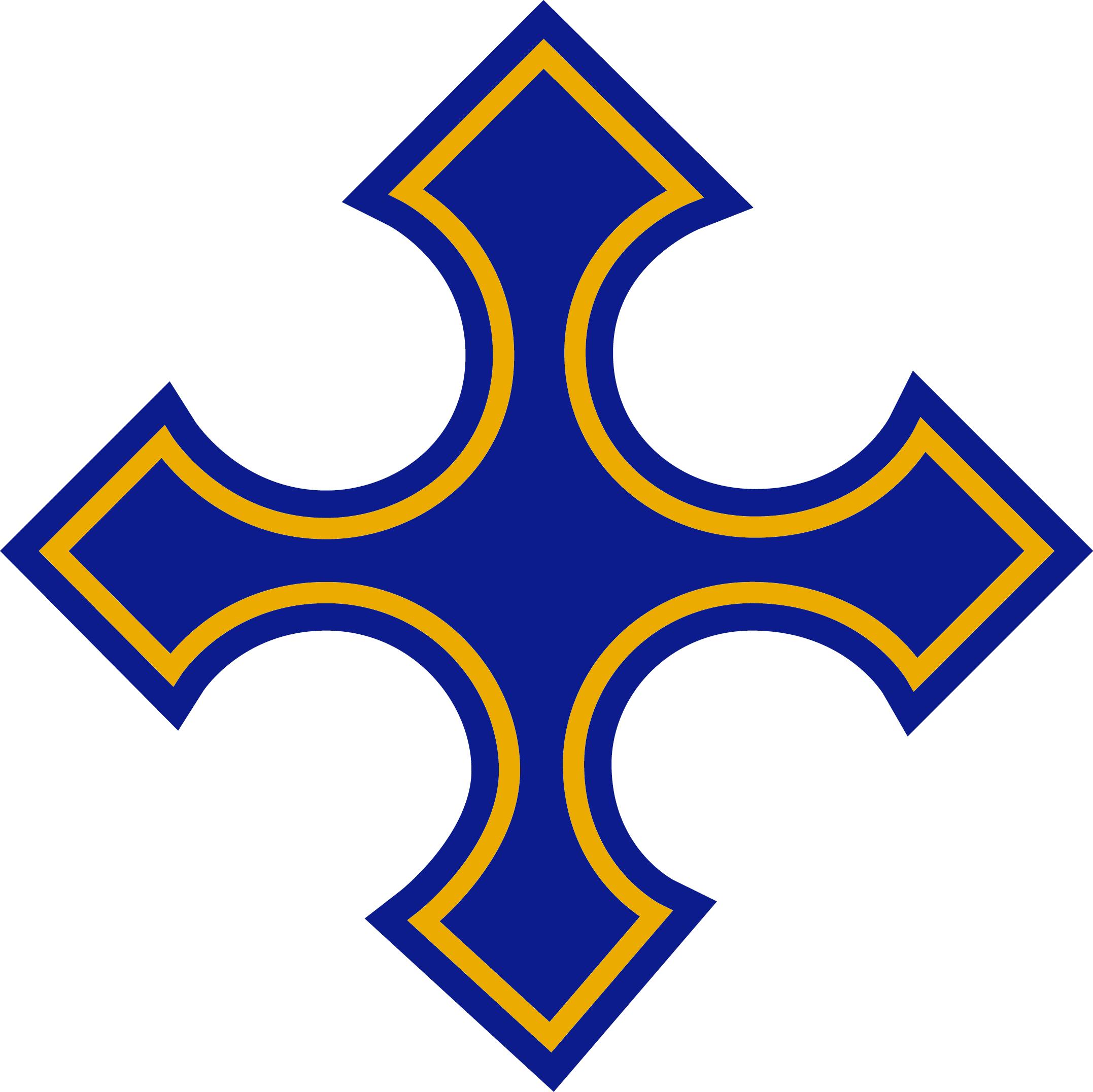 Logo Diocese of Arundel & Brighton - blue cross